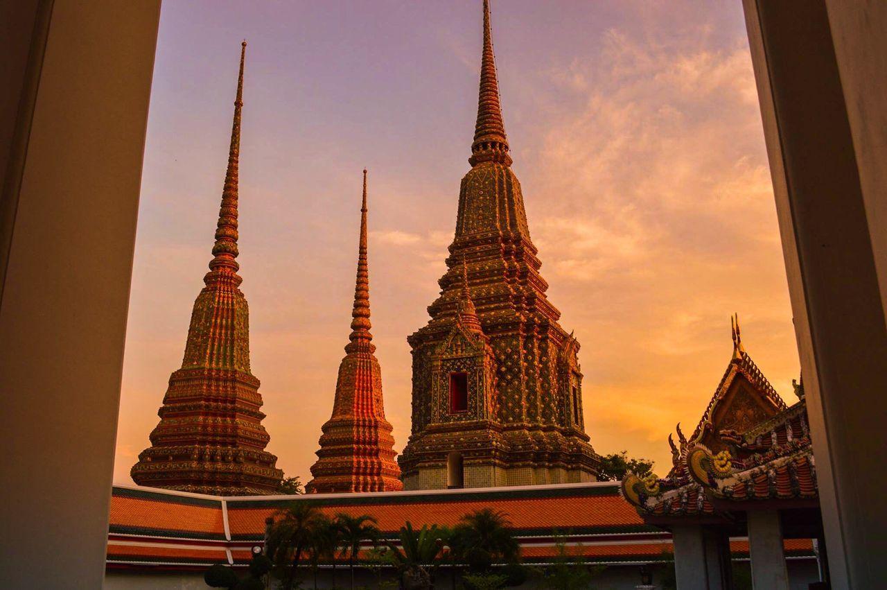 Dusk Sky Sunset Amazing_captures Amazing Architecture Bangkok Thailand.