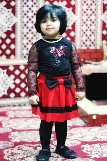 Children Only One Girl Only Child One Person Full Length Black Hair Childhood