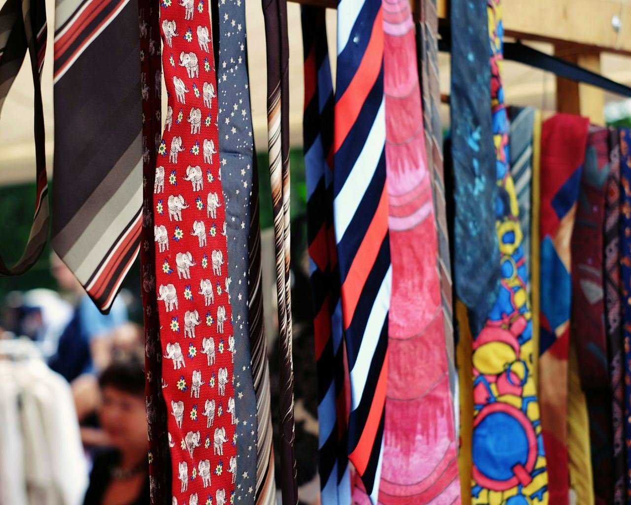 Pick your new business look. Tie Multi Colored Retail  Outdoors Choice Close-up Day Ties Fleamarket Flea Markets Fashion