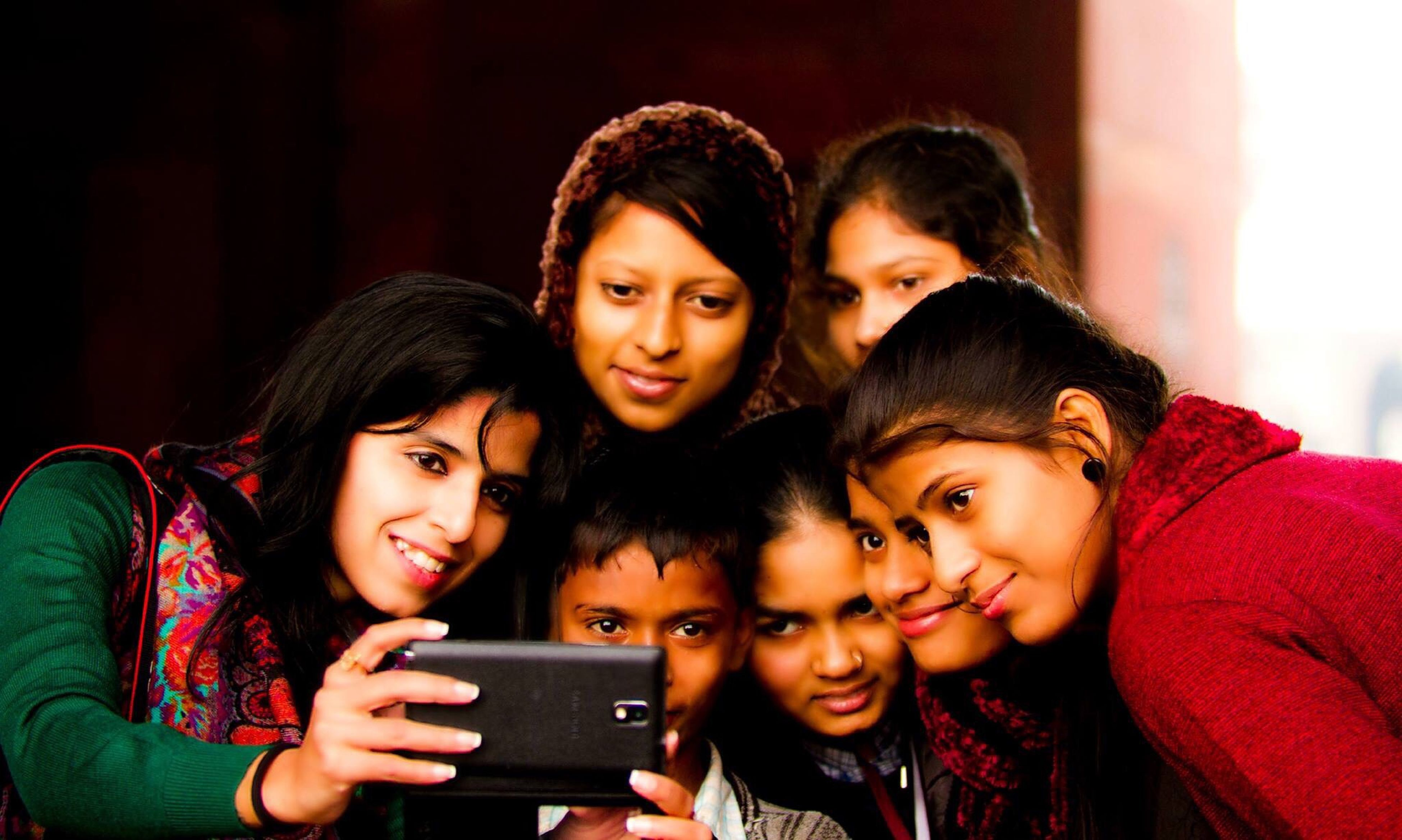 togetherness, bonding, love, person, lifestyles, family, happiness, leisure activity, smiling, portrait, childhood, looking at camera, sister, brother, sibling, friendship, enjoyment, elementary age