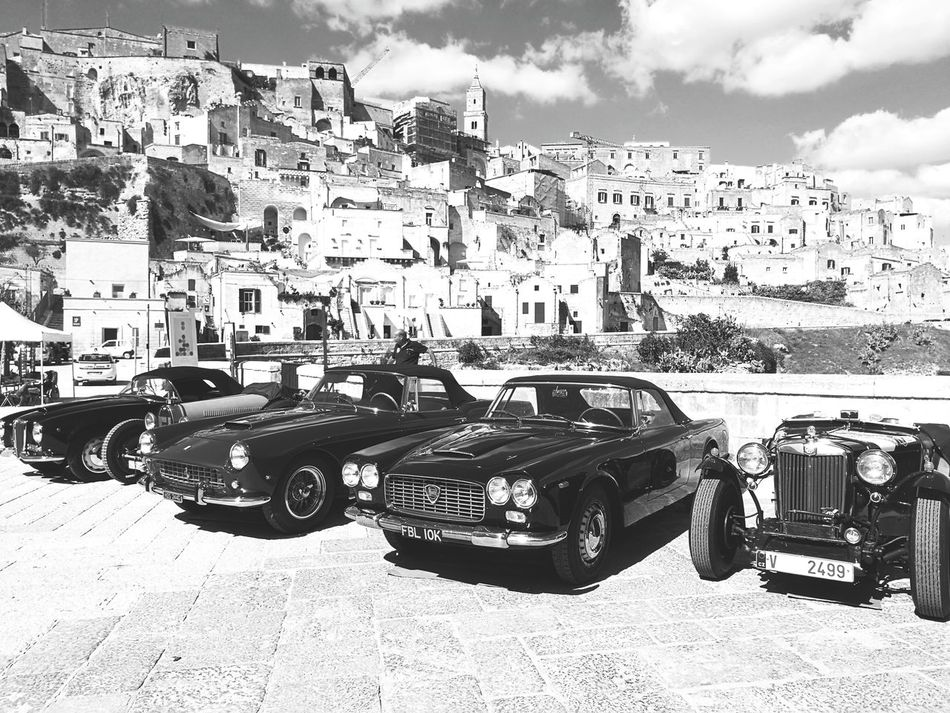 Matera Car Old Car Automobile Vecchia Ferrari First Eyeem Photo Lancia