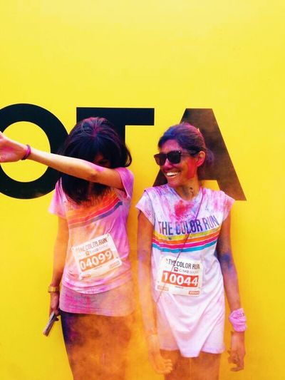 2014 CIMB The Color Run & more weekend like this, please. ❤️ Colors Of Carnival