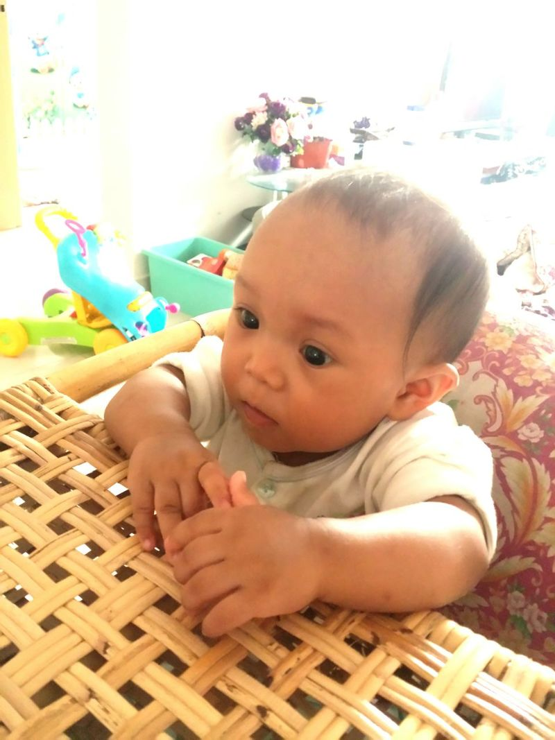 Have a lunch on sweet Sunday. Kiddo Faeezah Lunch RattanBabyChair