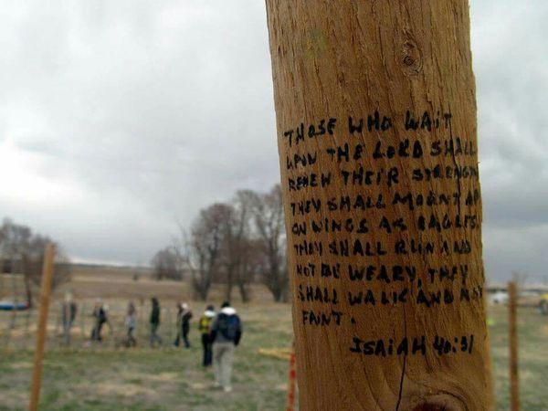 Isaiah 40:31 Bible Verses White Clay Pine Ridge Reservation Pine Ridge South Dakota Wood