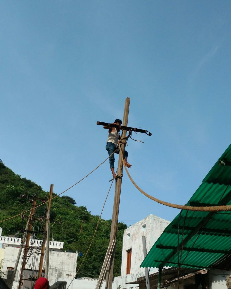 RISK Risky Risking Life Risky Business Electricity  Risk Taker Risk It Risktakers Workers At Work Work In Progress Electricity Pylon Electric Pole