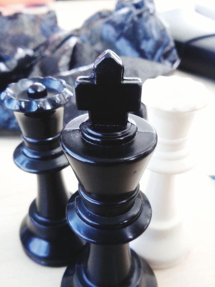 Chess Shoot Blackandwhite Queen King Game Chessboard Chesspieces Taking Photos First Eyeem Photo