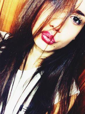 Me Myself Crazy Lips Brown Eyes
