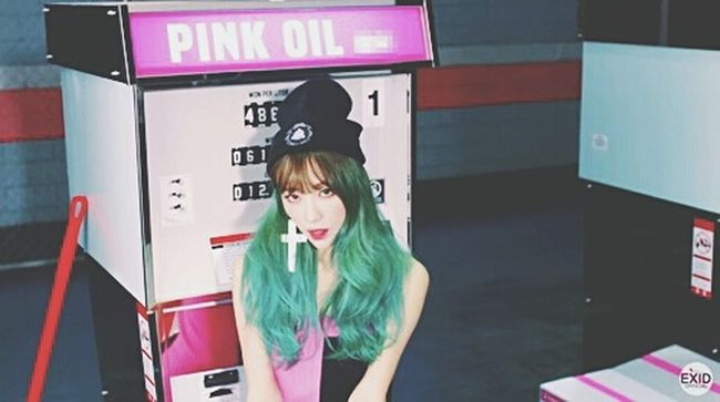 Hani EXID Ah Yeah Pink Hot Korean Kpop Girl Girls Gorgeous