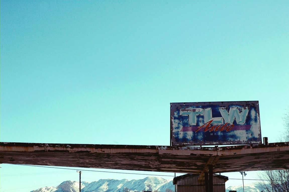 Junkyard Junk Yard Salt Lake City Utah Blue Sky Blue Skies Clear Day Couple Of Weeks Ago Outdoor Photography Outdoor Pictures Skyscape