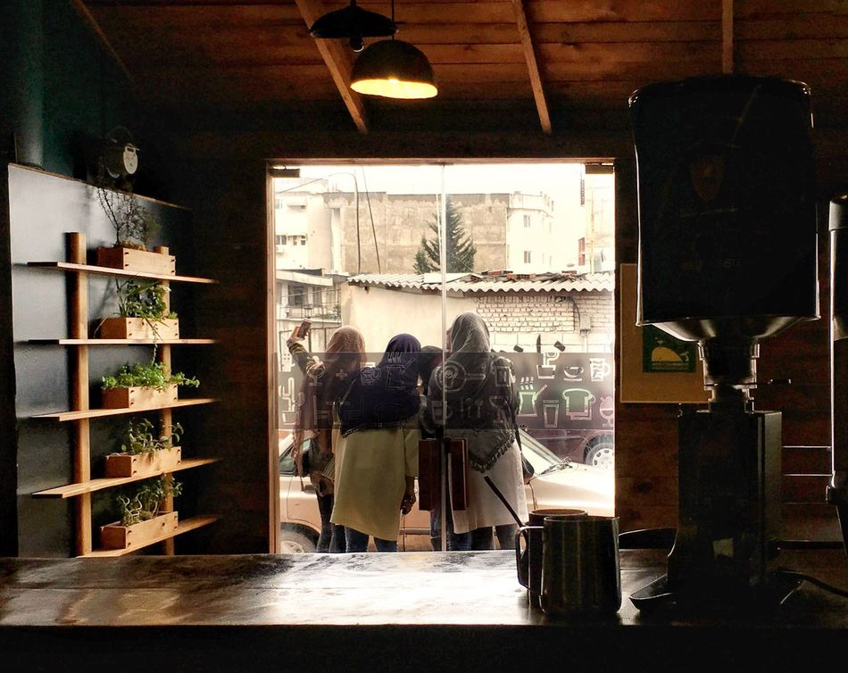 Women Around The World Only Women Indoors  Rear View Full Length Real People Store Window Window Display Buying Day People Adult Konjcafe