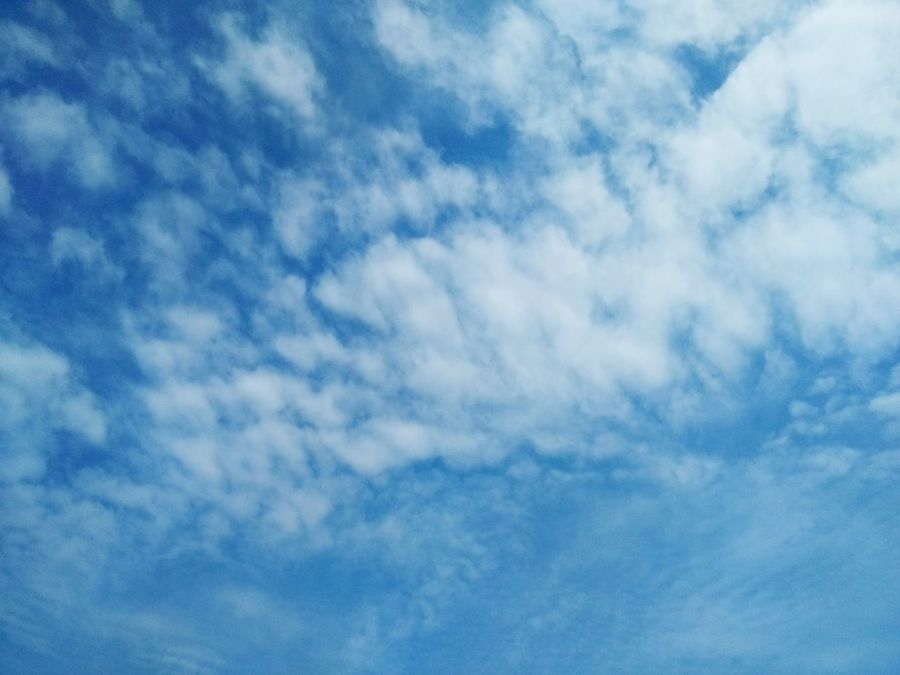 Sky Cloud - Sky Backgrounds Blue Nature Full Frame Cloudscape Beauty In Nature Sky Only Good Weather:)