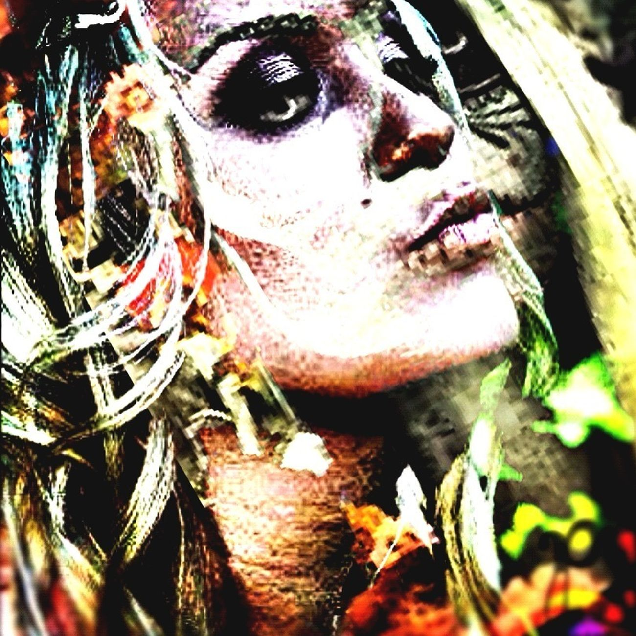 Darkart Dark Warriors Psychedelic_colors ZombieArt