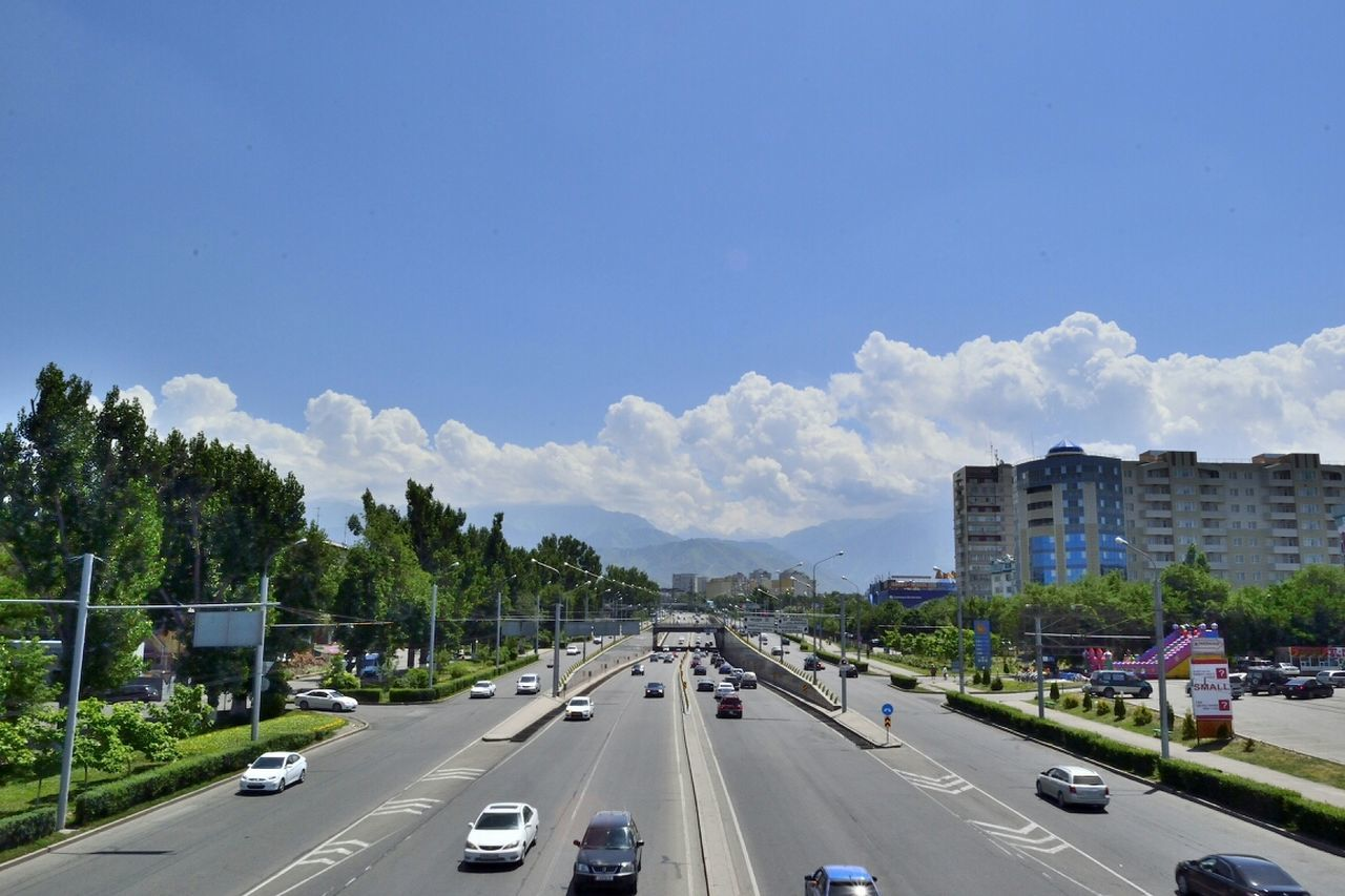 Beautiful stock photos of car, Almaty, Car, Day, High Angle View