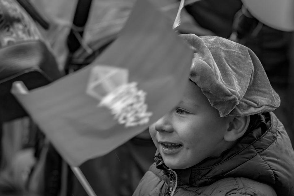 Blackandwhite Children Festive Season Happy How You Celebrate Holidays Intochtsinterklaas Kinderenaanhetwater Netherlands Santa Claus Sinterklaas St. Nicolas Zwarte Piet B&w Street Photography Telling Stories Differently The Photojournalist - 2016 EyeEm Awards