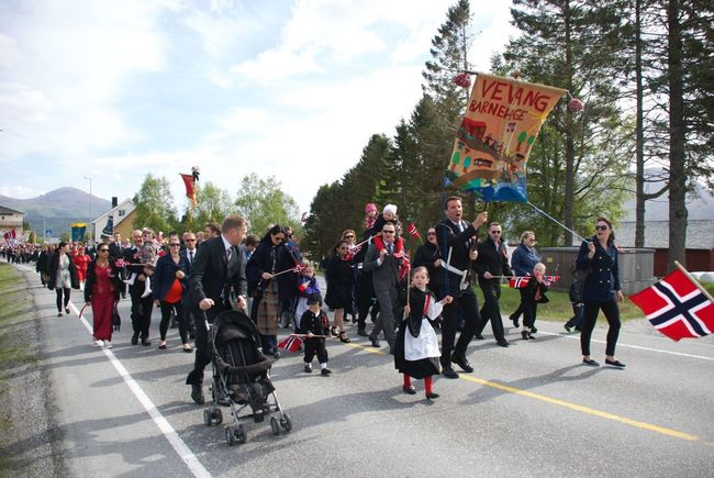 17 Mai Norway Eide På Nordmøre Hello World