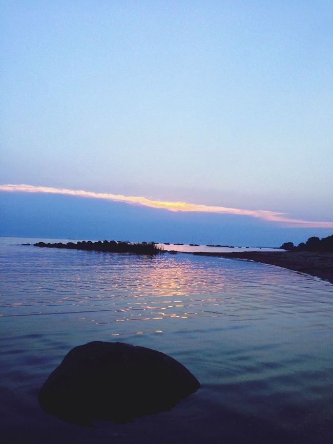 Sommer....... Vacation Summer #sunset #sun #clouds #skylovers #sky #nature #beautifulinnature #naturalbeauty #photography #landscape Sun