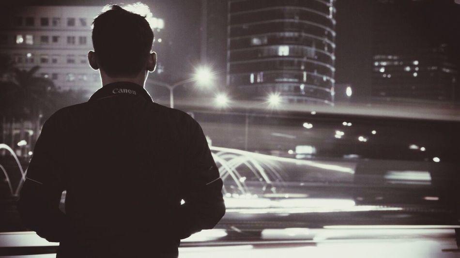 Silhouette Blackandwhite Jakarta