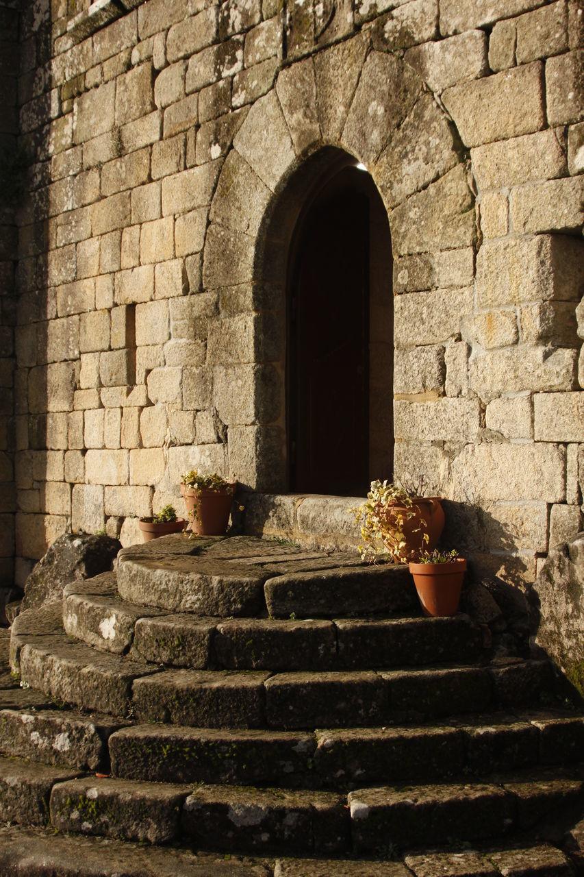 Steps Leading Towards Entrance Of Castle