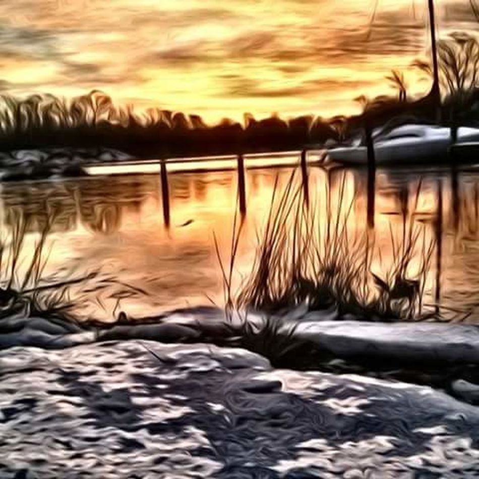 Beautiful Colors Water Reflections Love Living On The Water Serenity My Front Yard California MD USA Painted Landscapes