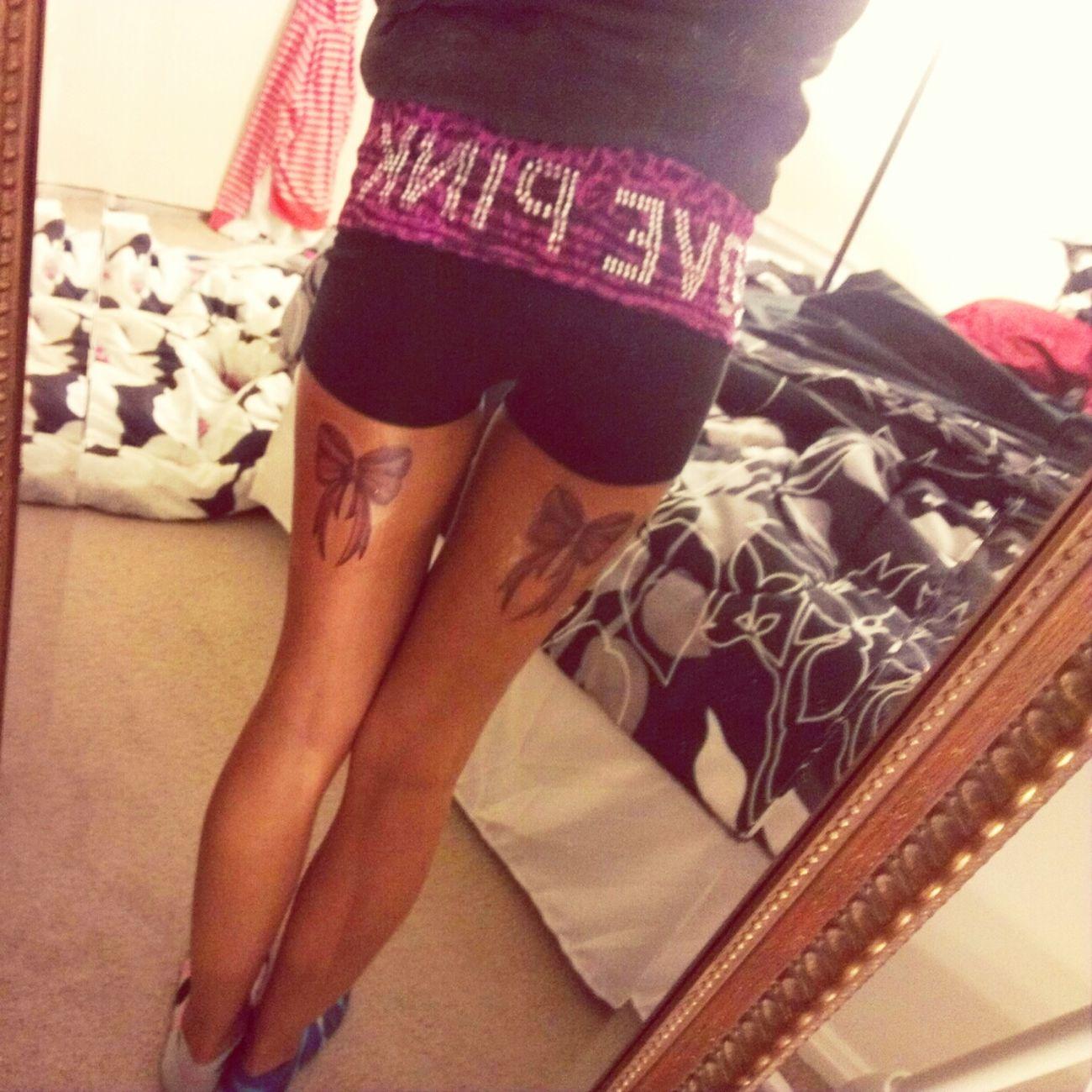 Bow Tattoos (: