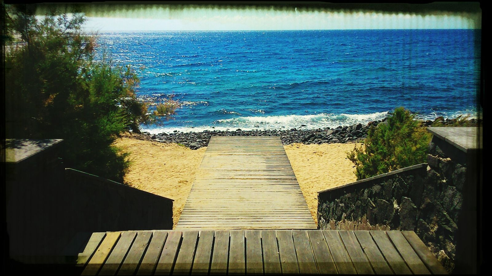 Camino al mar. Sea Surfing Beach Day Beach Time