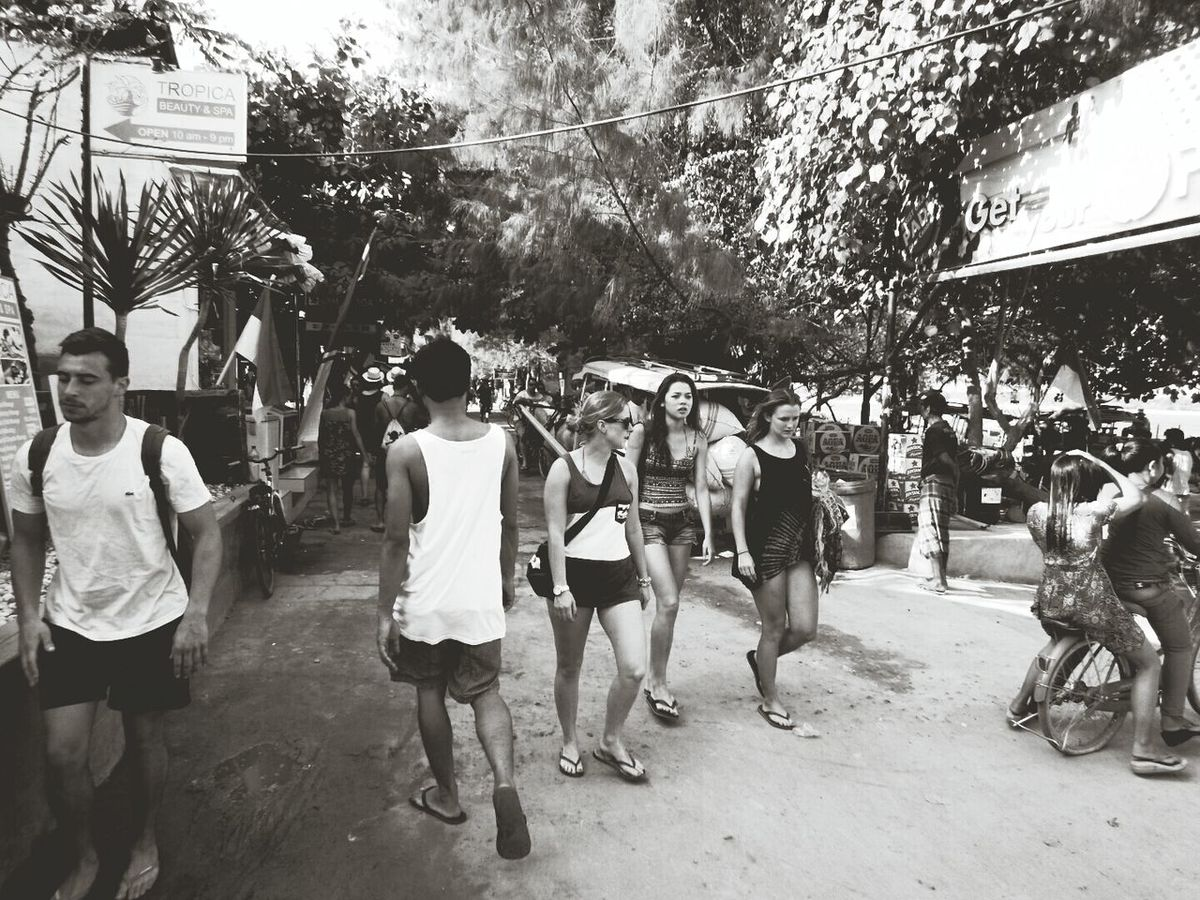 A lot people coming everywhere around the world to spend they are vacation on this islands! Gili Islands Life Is A Beach Beautifuldestination Black And White