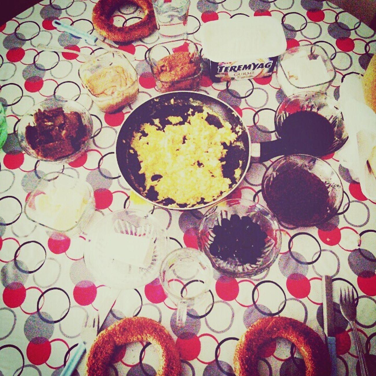Ben Kahvaltızamanı Boyle Kahvaltı Hazîrlarım😌