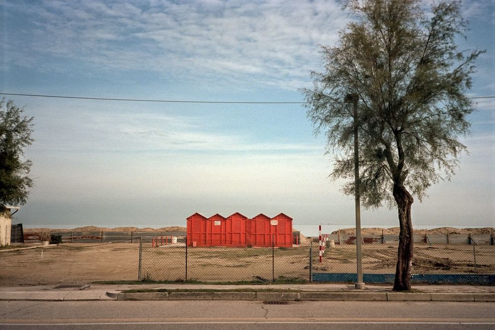 Misano Architecture Sea Beach Nature Analog Sky Landscape Film Outdoors Tranquility Sand Nikon Analogue Photography Marine Film Photography Scenics No People Nikonphotography Romagna Tranquil Scene Non-urban Scene Water Portra 160