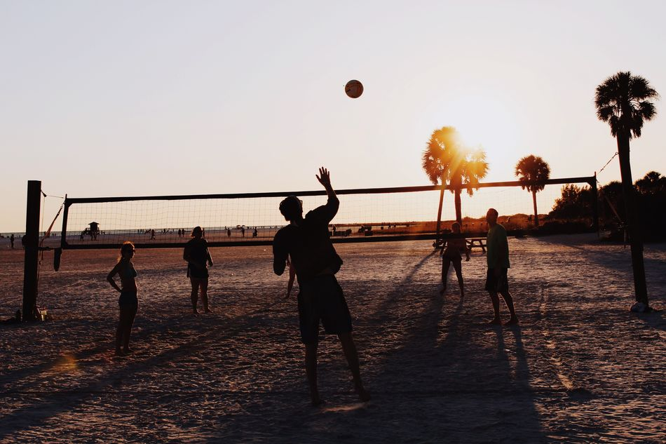 Beautiful stock photos of volleyball, 20-24 Years, Beach, Beach Volleyball, Enjoyment