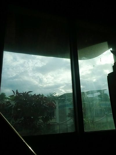 Look! The word is in the bottle. Sky Day Window Cloud - Sky Inmagination