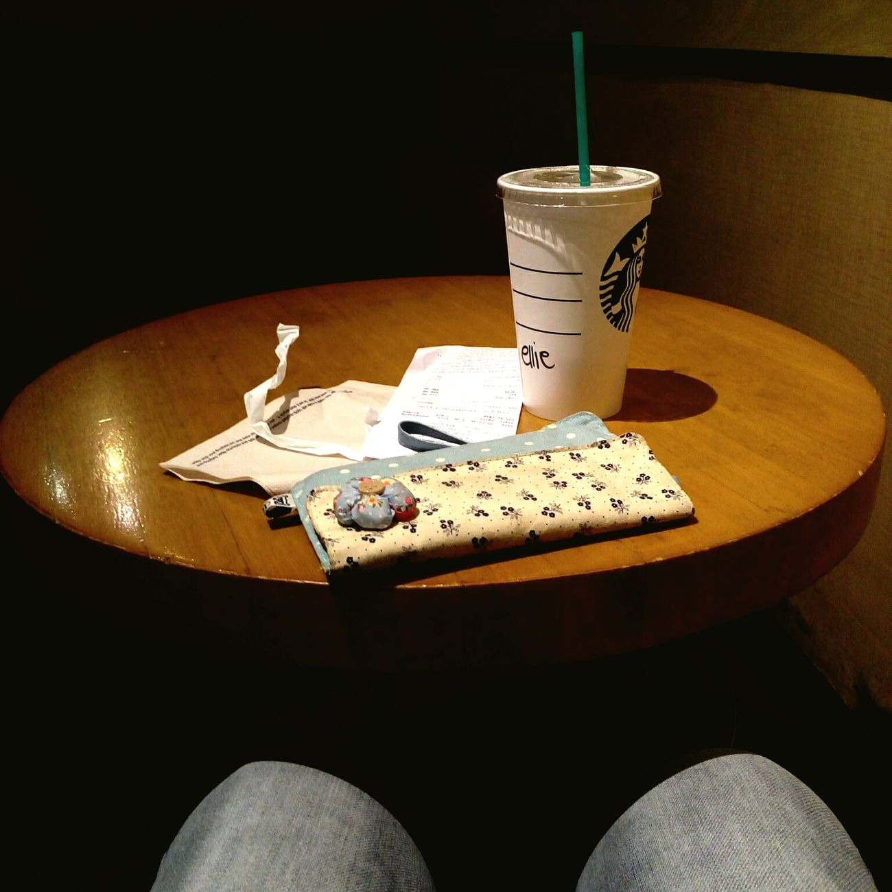 Relaxing Fromwhereisit My Teatime For Today Starbucks First Eyeem Photo