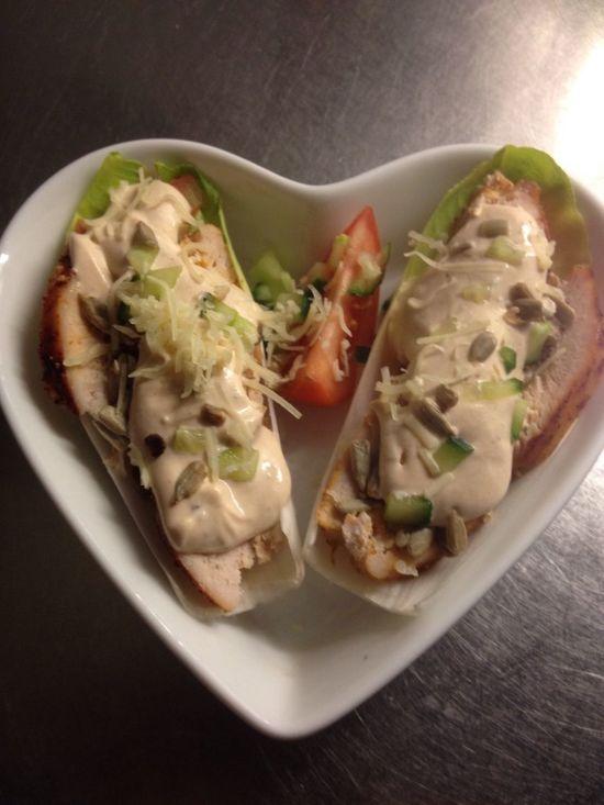 What's For Dinner? Chicken Salad Cremefraiche Herbs Kyckling Orter Creme Fraiche Endivesallad