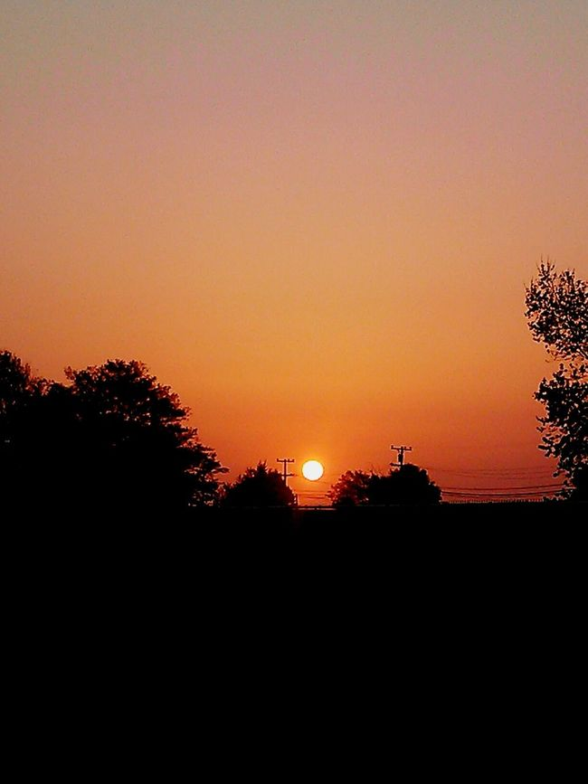 sunset / warm.