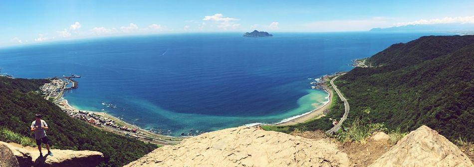 Hello World Taking Photos Enjoying Life Hi! Blue Ilan Sea And Sky Summer Beautiful Taiwan ☀☀☀