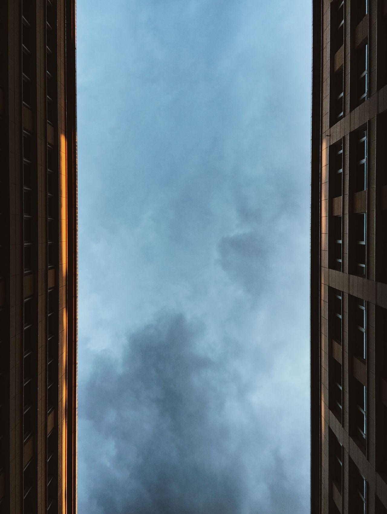 Architecture Berlin City Cloudy Lowlight Building Exterior Built Structure Dusk Evening Illuminated Lookingup Low Angle View Parallel Lines