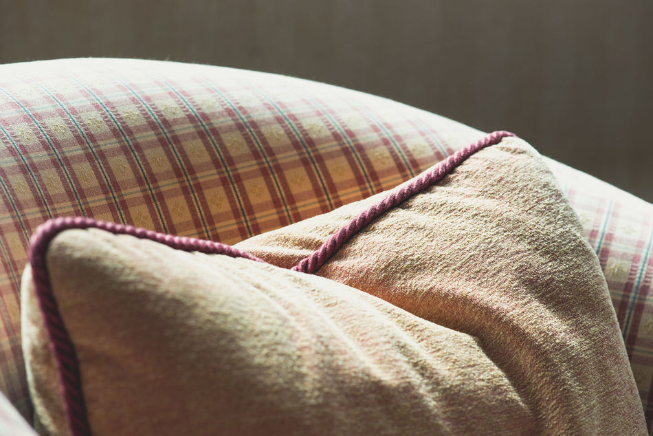 Afternoon Armchair Close-up Cozy Cushion Day Detail Have A Seat Indoors  Natural Light No People Pillow Relax Seat Softness Tapestry Interior Design Interior Home