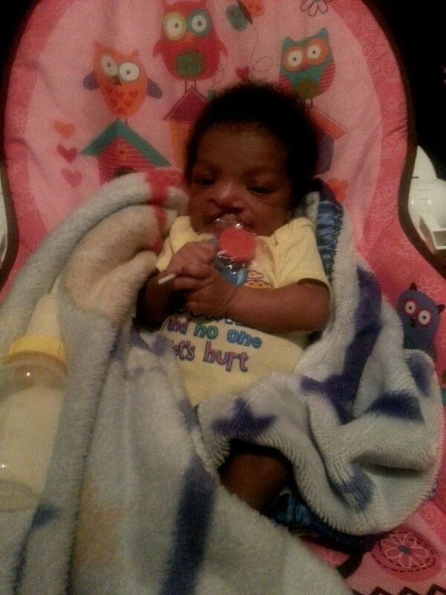 My Baby Tryna Eat The Sucker♥