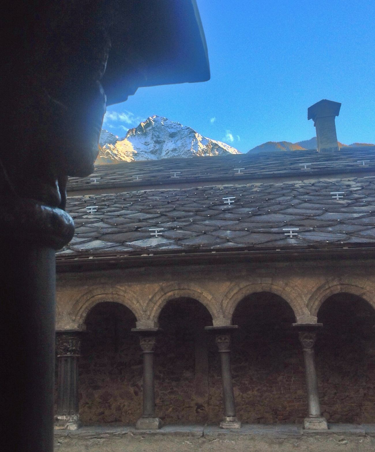 Great Views with Ancient Architecture ! Come and visit Aosta : it' s a magic place!