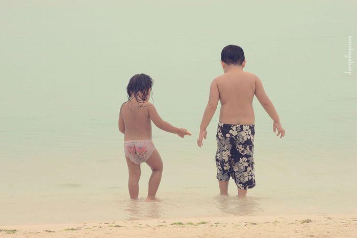 We Are Young Kids Swimming Time Swimwear Beach Photography Eyeem Philippines Eyemphotography EyeEm EyeEm Gallery Simplicity Panglao, Bohol Bohol Philippines Beachlovers Beachphotography Life Is A Beach