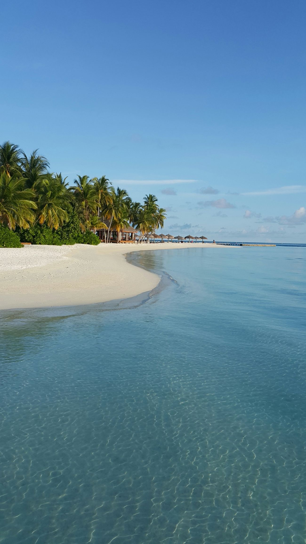 Holiday Maldives Veligandu Island Resort Holiday Memories Resort Sea Suny Day
