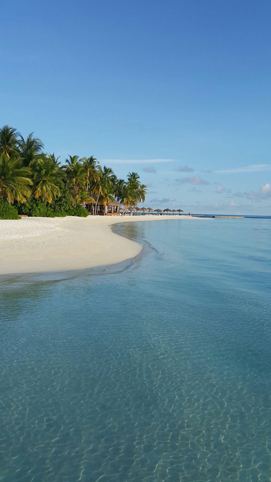 Holiday Maldives Veligandu Island Resort Holiday Memories Resort Sea Suny Day