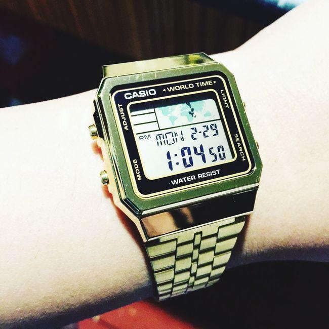 Watch my time ! Casio Watch Golden Hour Latina ♥ United Arab Emirates Fashion Accesories
