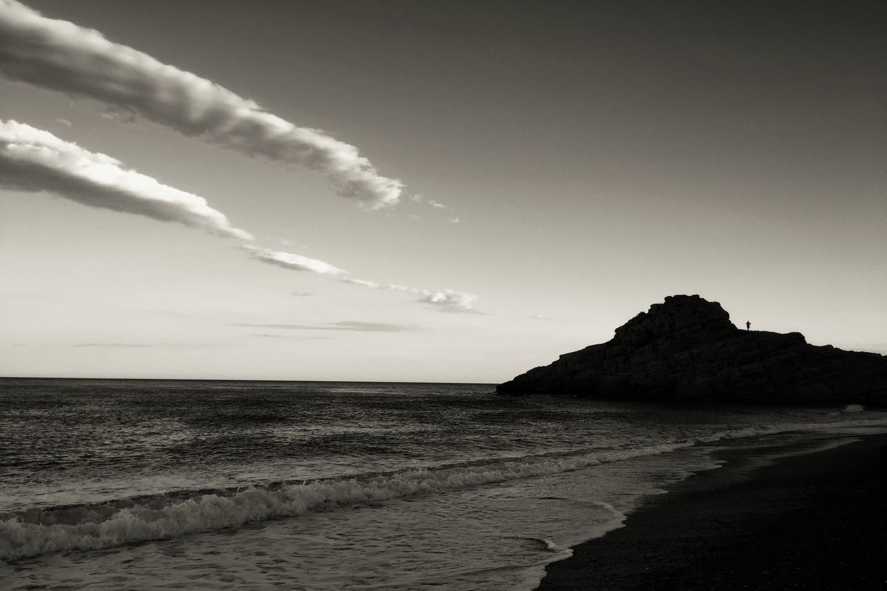 Mediterranean  Summertime IPhoneography Blackandwhite Clouds And Sky Enjoying Life