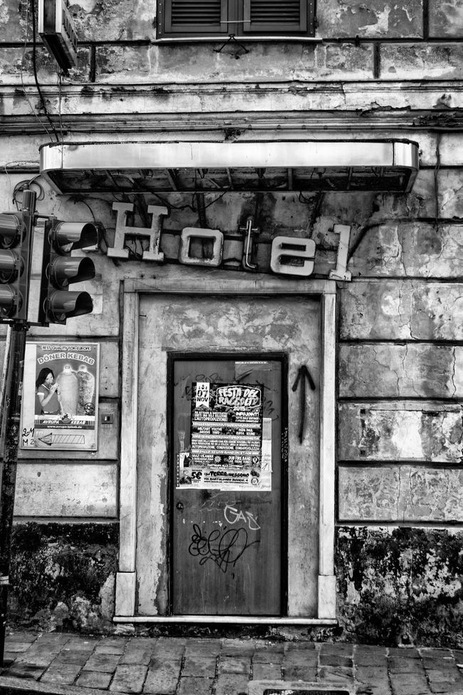 Genova Streetphotography Blackandwhite Street Photography Black And White Nsnfotografie Walking Around The City  Bw_collection Urban Landscape Streetphoto_bw Abandoned Abandoned Places Abandoned Buildings Beauty Of Decay Urbex
