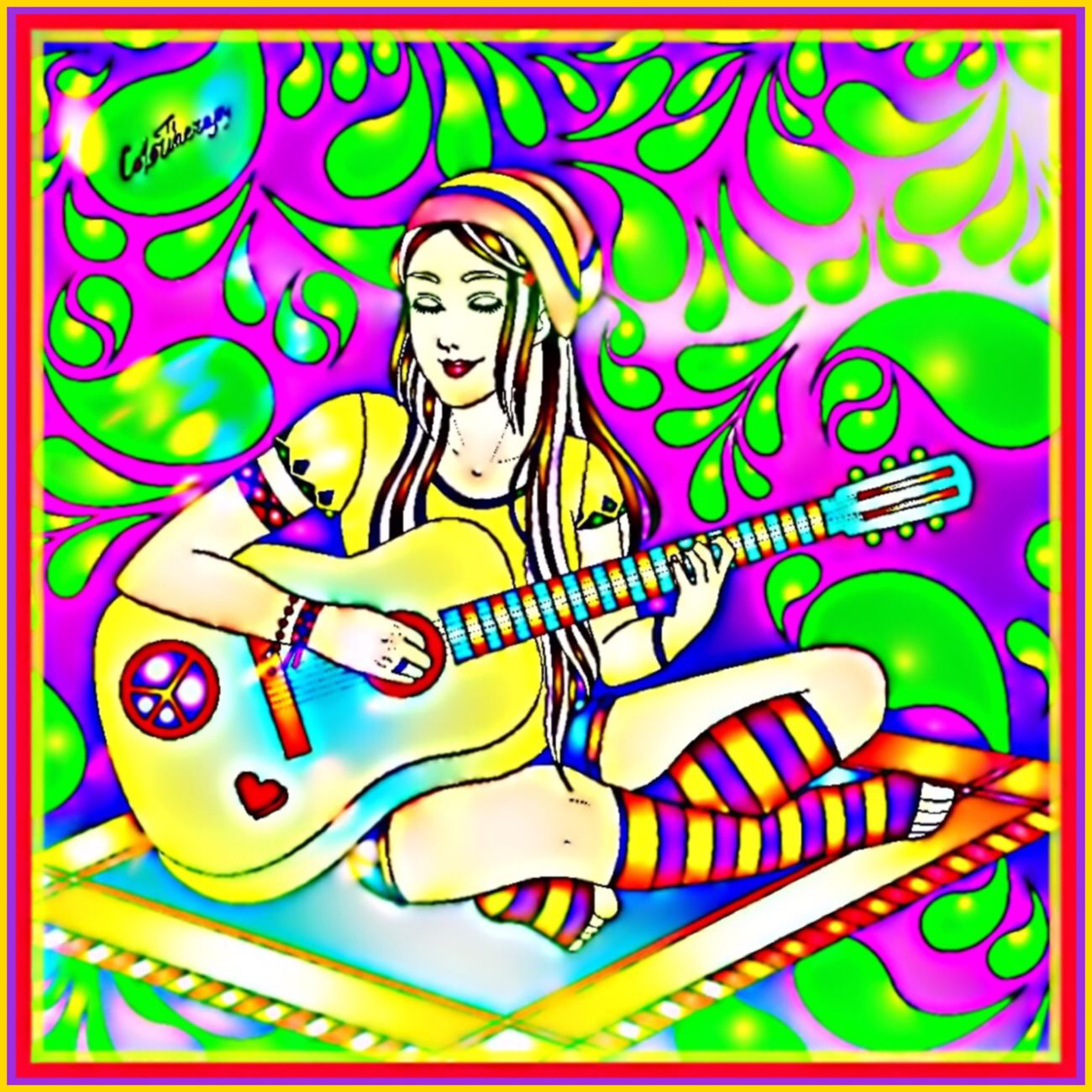 Art Series 🎨🖌🎨 Colortherapy Colortherapyapp Picsart Adultcolouring Art Therapy ArtSeries🖌 Colourful Vibrant