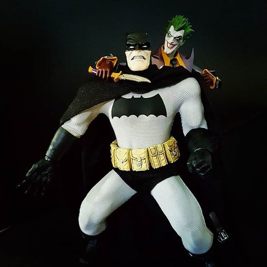 Batman: Why dont you kill me? Joker: I don't, I don't want to kill you! What would I do without you? Go back to ripping off mob dealers? No, no, NO! No. You... you... COMPLETE me... Batman Joker JokerSunday Heathledger Agentofchaos Mezcobatman Mezcotoyz TheDarkKnightReturns Thedarkknight Joker Shfiguartsjoker SHfiguarts DC Dccomics DetectiveComics DcCollectibles Dcmultiverse Toyphotography Toycommunity Toyboners Ata Atadreadnoughts Toptoyphotos Weareagelessgeeks Epictoyart toysaremydrug anarchyalliance rebeltoysclub