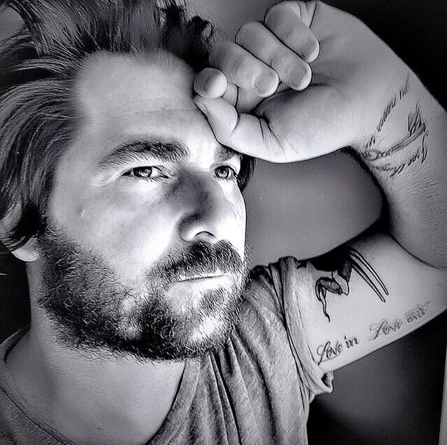 That's Me Portrait Portraits Self Portrait Selfportrait Selfie ✌ Ink Inked Tattoo Tattooed Guy Man Blackandwhite Black & White Black&white Light And Shadow