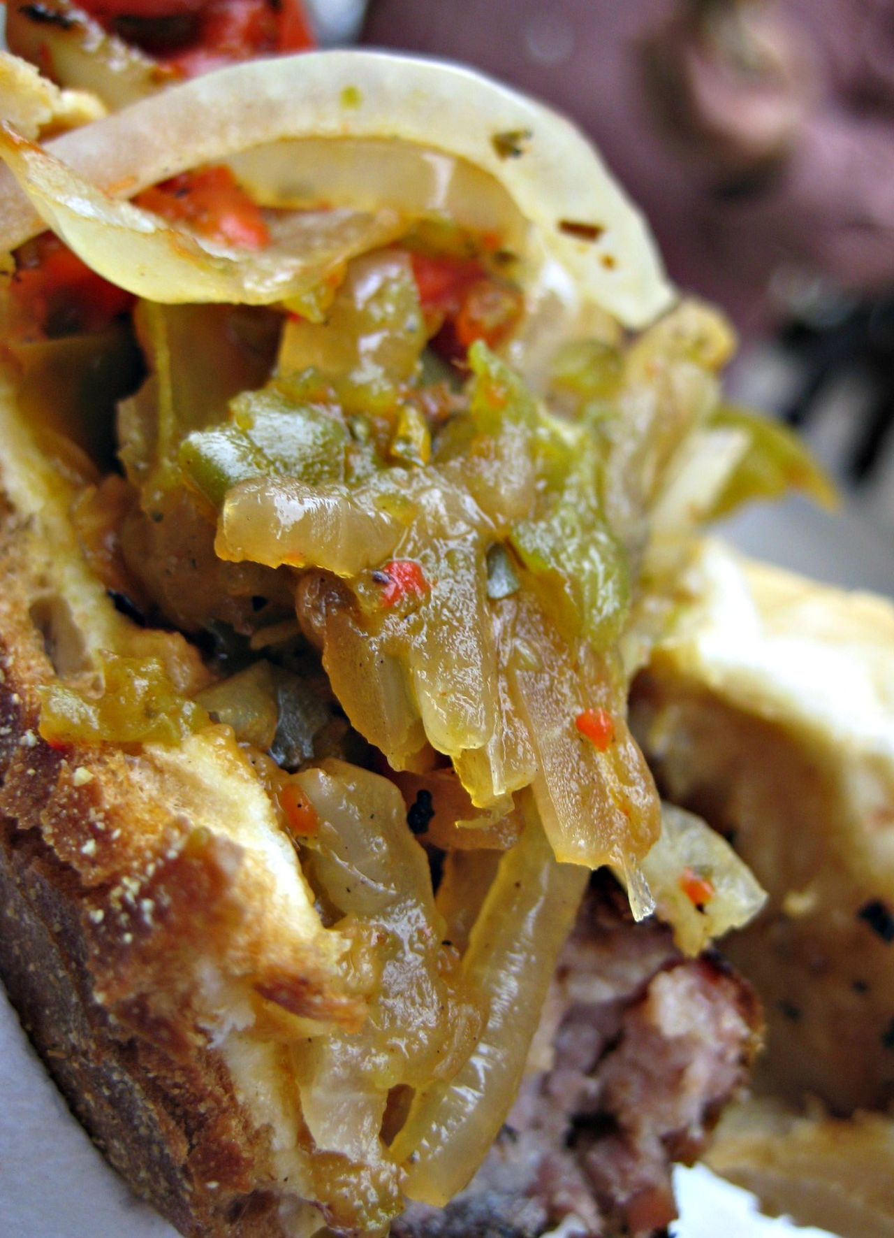 Close-up Food Food And Drink Food Photography Food Porn Freshness Indulgence Little Italy Meal Onions Peppers Peppers And Onions Ready-to-eat San Gennaro Sausage And Peppers Temptation Foodie Foodphotography Foodporn