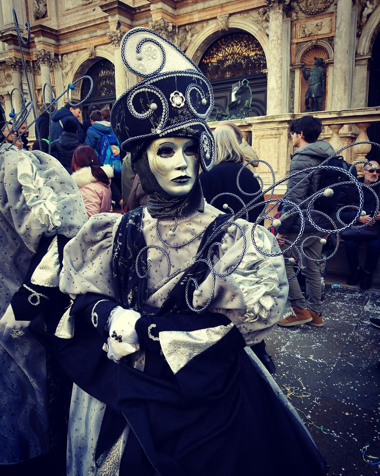 Cold beauty Beauty Behind The Madness People Mask Carneval Seriousface EyeEm Gallery Color Portrait Colours