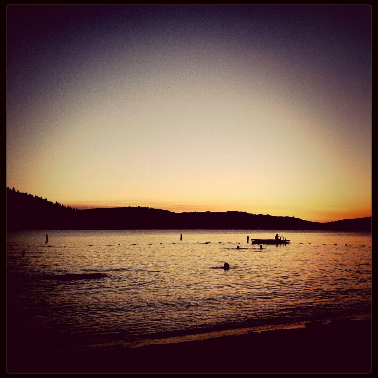 Sunset Being A Beach Bum Swimming Beautiful